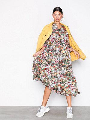 Only onlMASJA 3/4 Long Dress Wvn Svart