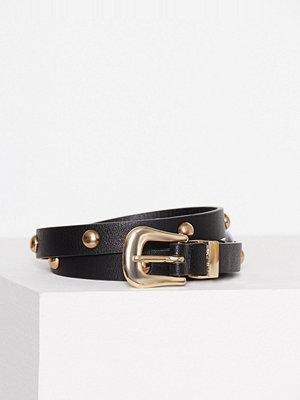 Pieces Pcanya Jeans Belt Svart