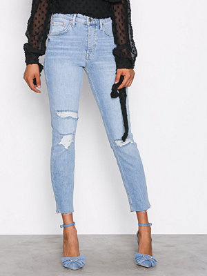 Gina Tricot Sienna High Waist Jeans Light Blue