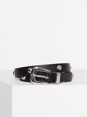 Bälten & skärp - Pieces Pcanya Jeans Belt D2D Svart