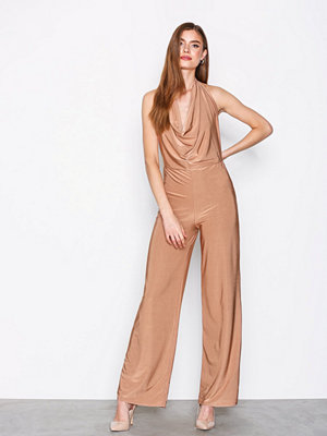 NLY One Double Layer Jumpsuit Beige