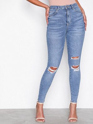 Gina Tricot Gina Curve Jeans Light Blue