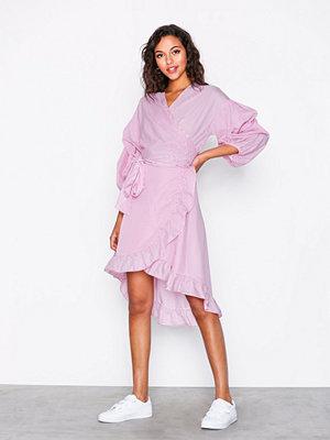 Y.a.s Yasneya Wrap Dress Offwhite