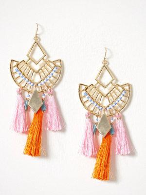 Pieces örhängen Pcduo Earrings Guld