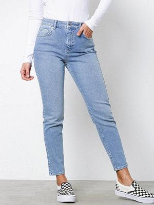 Gina Tricot Bonnie Slim Mom Jeans Mid Blue