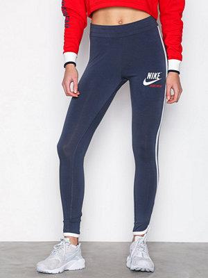 Leggings & tights - Nike NSW Archive Leggings Blå