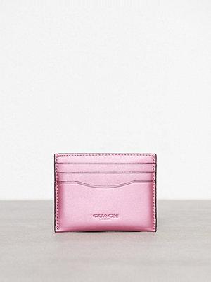 Plånböcker - Coach Flat Card Case Rose
