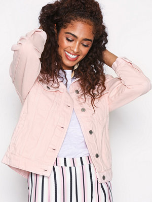 Jeansjackor - Gina Tricot Rose Denim Jacket Light Pink