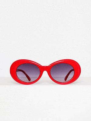 Solglasögon - Only onlDIANA Sunglass Box Acc Mörk Röd