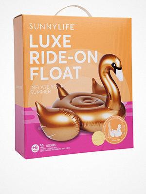 Strandplagg - Sunnylife Float Gold Swan Gold