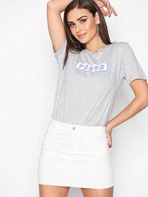Vero Moda Vmhot Seven Nw Mini Skirt Vit