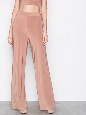 NLY One Double Layer Pant Beige byxor