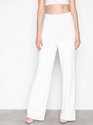 NLY One vita byxor Double Layer Pant Vit