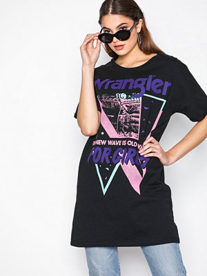 Wrangler Tee Dress Black