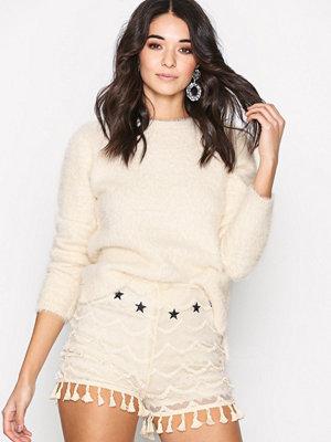 Glamorous Crochet Shorts Cream