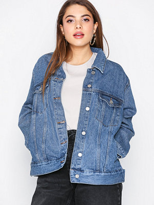 Jeansjackor - Missguided Oversized Denim Jacket