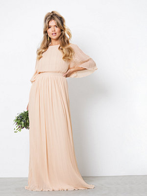 NLY Eve Open Back Kimono Gown Ljus Rosa