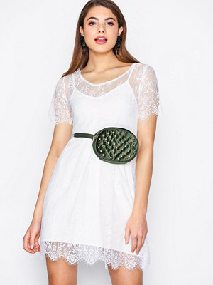 Motel Valria Lace Dress White