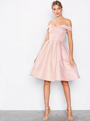 Chi Chi London Jade Dress Bridal Pink