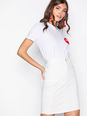 Vero Moda Vmhot Nine Hw Pencil Skirt Vit