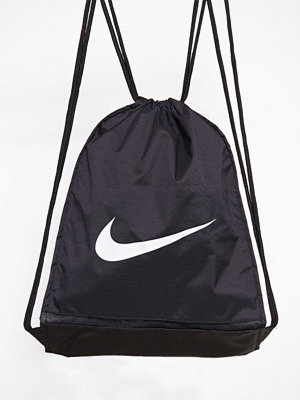 Sport & träningsväskor - Nike Brasilia Training Gymsack Svart/Vit