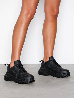 Sneakers & streetskor - NLY Shoes Perfect Chunky Sneaker Svart