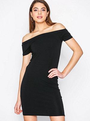 Only onlLIVE Love Ss Off Shoulder Dress Svart