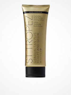 St. Tropez Gradual Tan Plus Sculpt & Glow Toning Lotion