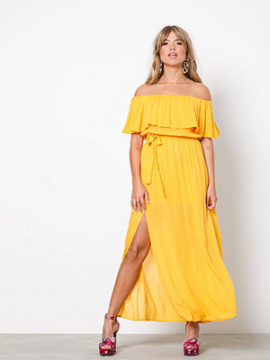 NLY Trend Singoalla Long Dress Citrus