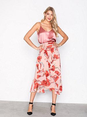 Y.a.s Yascacco Wrap Skirt Ljus Rosa