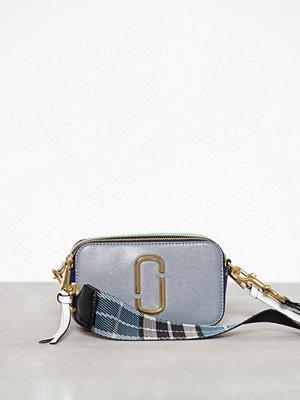 Marc Jacobs omönstrad axelväska Snapshot Bag Slate multi