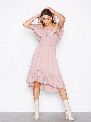 Vila Vipetra S/S Dress Ljus Rosa