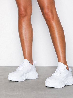 Sneakers & streetskor - NLY Shoes Perfect Chunky Sneaker Vit