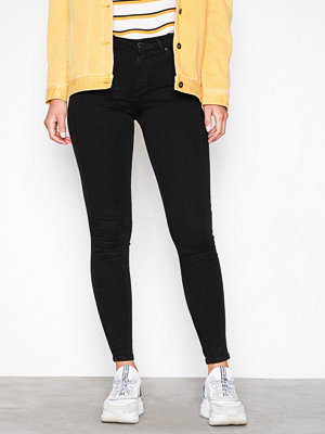 Topshop MOTO Black Leigh Jeans Black