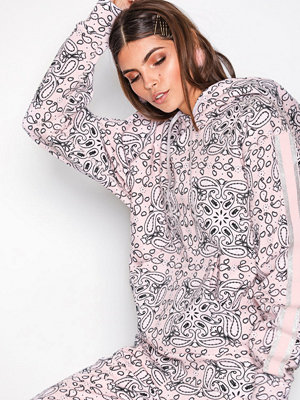 Street & luvtröjor - Converse Miley Cyrus Pullover Hood Rosa