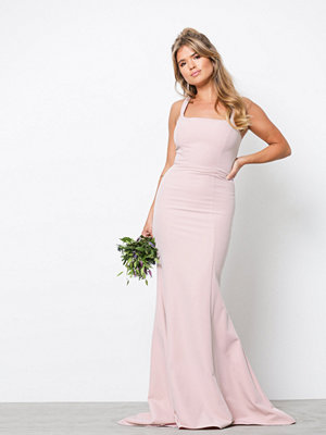 NLY Eve Square Neck Mermaid Gown Dusty Rose