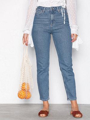 Topshop MOTO Orson Slim Leg Jeans Denim