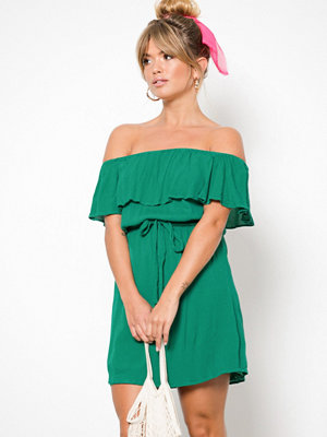 NLY Trend Singoalla Short Dress Grön