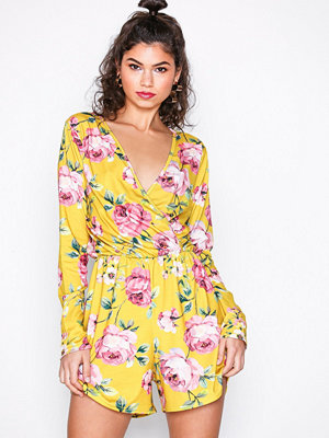 NLY Trend Summer Playsuit Mönstrad