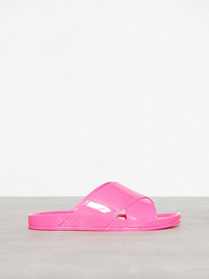 Topshop Roxy Jelly Sliders Pink