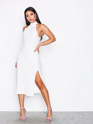 Motel Freja Midi Dress Ivory