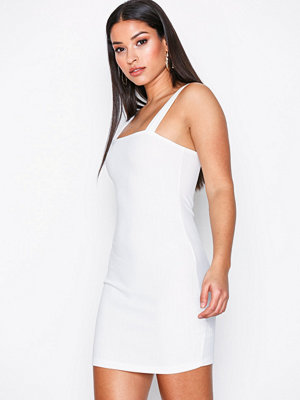 Motel Farlie Midi Dress Ivory