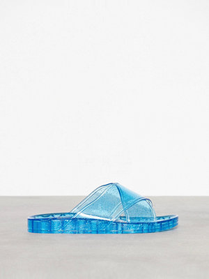 Topshop Roxy Jelly Sliders Blue