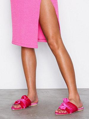 Tofflor - NLY Shoes Twist Sandal Rosa