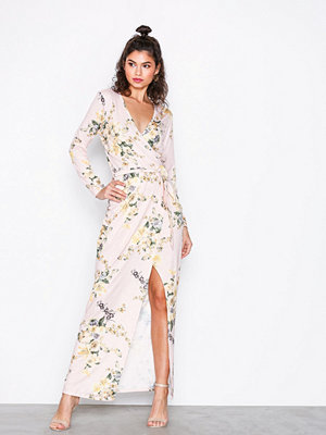 NLY Trend Jersey Printed Maxi Dress Mönstrad