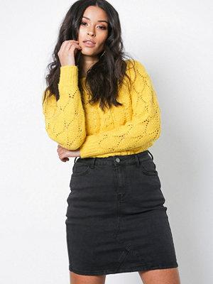 Vila Virusty Rw Skirt Black Svart