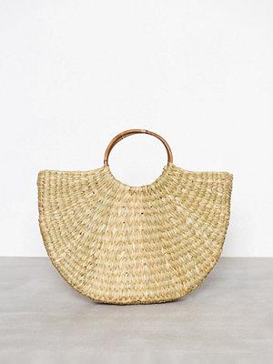 Only onlKENNA Straw Beach Shopper