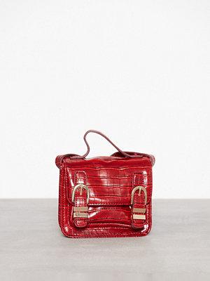Missguided axelväska Mini Bucket Up Cross Body Bag Red