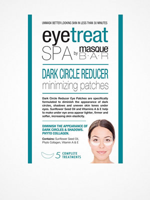 Ansikte - masque B.A.R Eye Treat Dark Circle Reducer Minimizing Patches Transparent