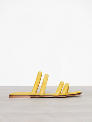 Topshop Fever Strappy Sandals Yellow